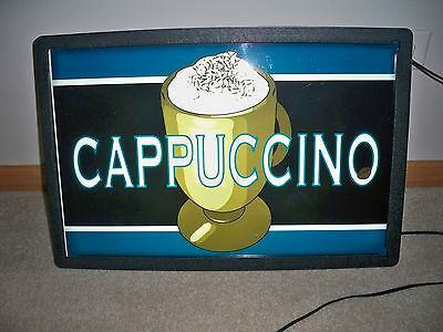 Electric Cappuccino Sign