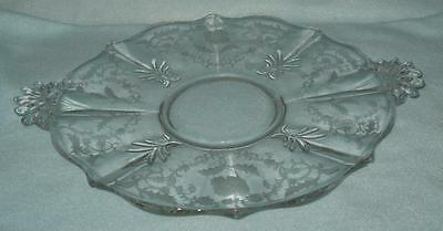 Fostoria Shirley Plate Serving with Handles