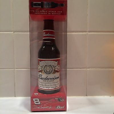 2002 DALE EARNHARDT JR.#  8 1:64 Scale Car In a Budweiser Bottle 1of 85056