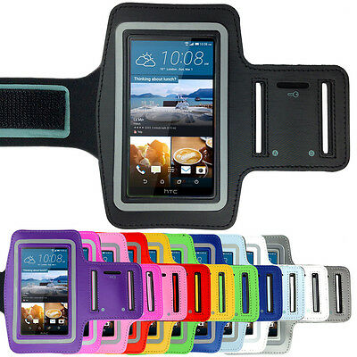 Sports Gym Running Exercise Armband Arm Band Pouch Case for HTC One M9 M8 M7