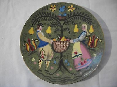 BRAYMER HILL AMERICAN FOLK SERIES 2ND EDITION SUMMER BOUNTY COLLECTOR PLATE #777