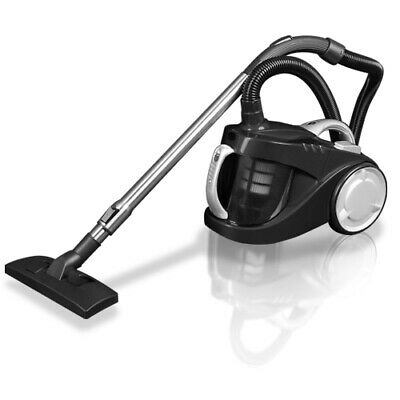 Bagless Cyclone Cyclonic Vacuum Cleaner HEPA Black Home Cleaning Appliance