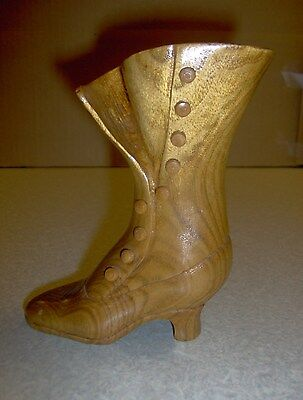 Collectible Minature Woden Boot