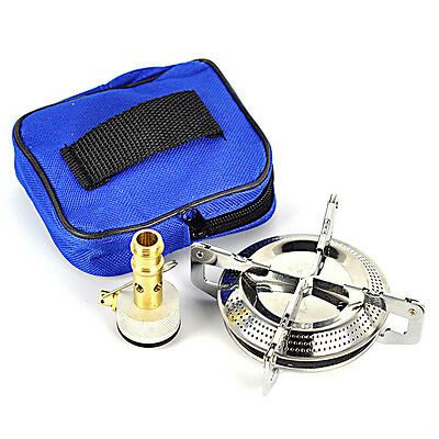 Portable Cookout BBQ Gas Furnace Outdoor Hiking Picnic Camping Mini Stove Burner