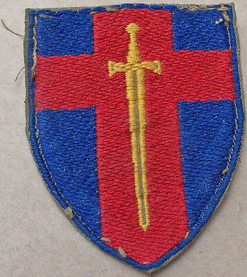 British Army UNIT Formation Patch RHINE ARMY Troops embroidered SWORD & SHIELD