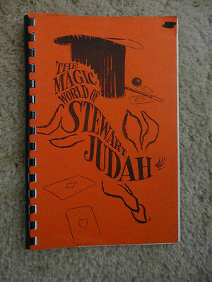THE MAGIC WORLD OF STEWART JUDAH..Copyrighted .. 1966.. MINT!!!