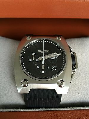 Wyler Genève Camino, Prototype, Stainless Steel, Chronograph, Watch, Uhr