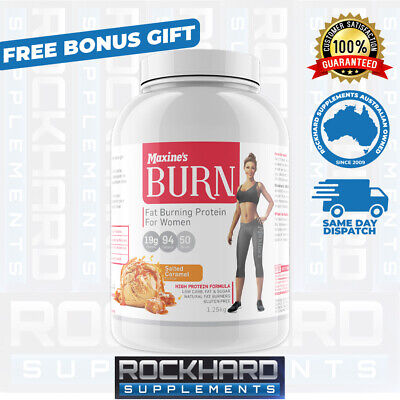 Maxine's Burn Whey Protein 1.25kg - Toning - Low Carb Womens Maxines