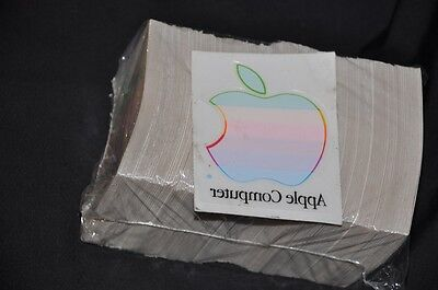 NEW - L01970A Apple Rainbow Logo Window Sticker Rare Vintage Collectible