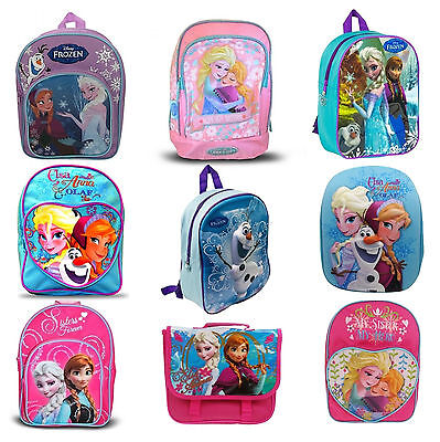 Disney Frozen Princess Anna Elsa Olaf School Bag Rucksack Backpack Brand New
