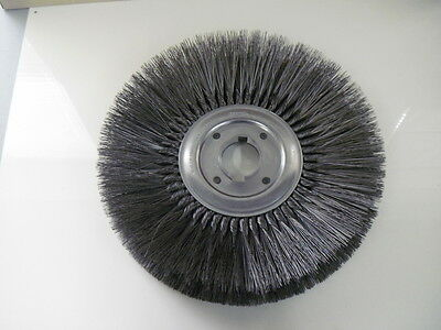 "Osborn 15"" Steel Wire Wheel Brush 2"" Arbor Hole .015 Wire 4500 RPM"