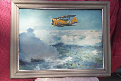 2 Eric Sloane Paintings / mid 1930's to early 1940's