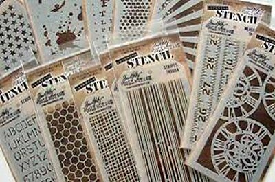 *NEW* (Ranger) Tim Holtz LAYERING STENCIL - You Choose! *FREE Next Day P&P*