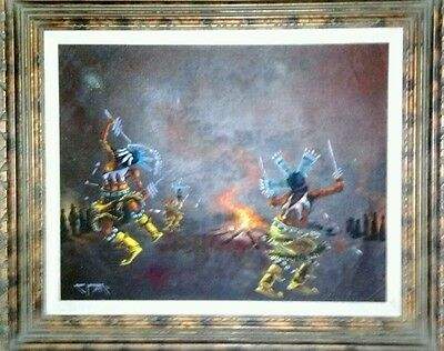 Robert Yellowhair 1973 original from famous Navajo artist in the top #10 in U.S.