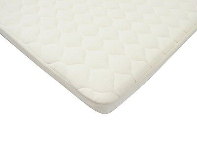 Organic Cotton Quilted Pack N Play Playard Size Fitted Mattres Pad Cover