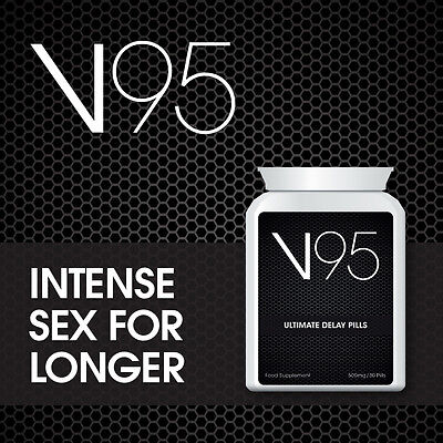 V95 Ultimate Delay Pills Stop Premature Ejaculation Extreme Sex All Night Long