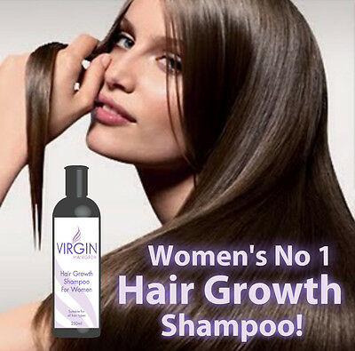 Virgin For Women Hair Loss Shampoo Fast Hair Re-Growth Max Strength Herbal