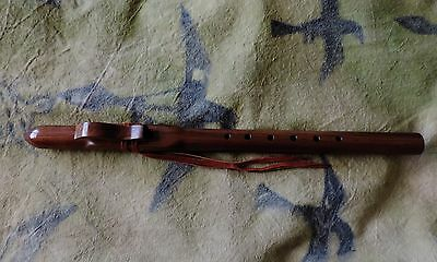 NATIVE AMERICAN STYLE FLUTE 330 WALNUT MAPLE KEY OF G MADE BY CM FLUTES