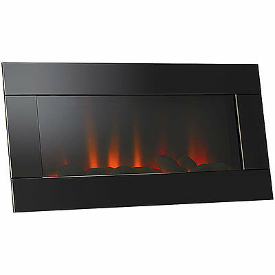 led wandkamin mit trueflame leds elektrokamin kamin flammenlos flackernd deko picclick de. Black Bedroom Furniture Sets. Home Design Ideas
