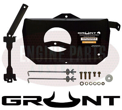 Grunt 4X4 Dual Battery Tray Toyota 80 Series Landcruiser Diesel 1Hd-T & 1Hd-Ft