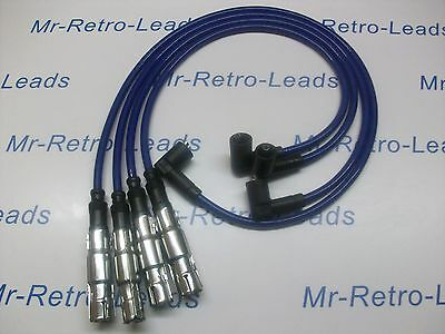 Blue 8Mm Performance Ignition Leads To Fit Seat Ibiza 1.4 Arosa 1.4 Quality Lead