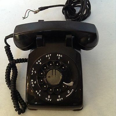 Vintage Black Rotary Phone Bell System made by Western Electric  Made In The USA