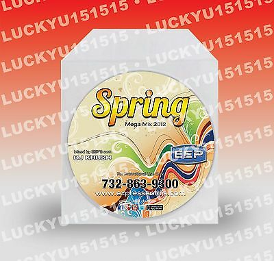 300 Cd Custom Printing Full Color Directly Printed On Disc & Duplication