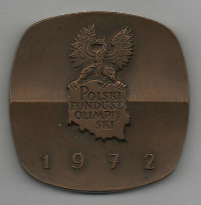 Orig.participant medal   Olympic Games MÜNCHEN 1972 // Team Poland  !!  RARITY