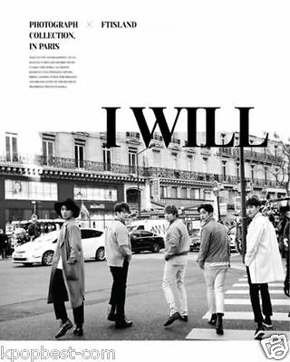 FTISLAND - I Will (5th Album Special) CD+Photo Booklet+Photo Card+Poster+Gift