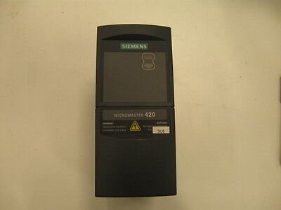 Siemens Frequency Converter 6SE6420 - 2AB15 - 5AA0 - Frequency Inverter