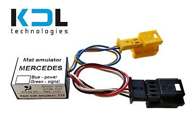 For Mercedes C-Class W203 2005/6-07 Bypass Seat Occupancy Mat Sensor Emulator