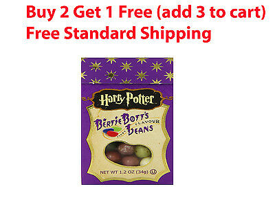 Harry Potter jelly Belly Beans BERTIE BOTTS 1.2 oz Every Flavor candy #102229