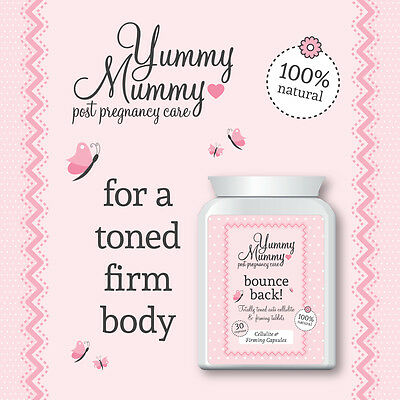 Yummy Mummy After Birth Anti Cellulite Treatment Pill Instant Smooth Toned