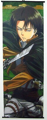 Shingeki no Kyojin Attack on Titan Anime Manga Wallscroll Stoffposter 60x170cm