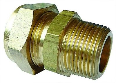 Male Stud Coupling BSPT - WADE Imperial Compression Fitting