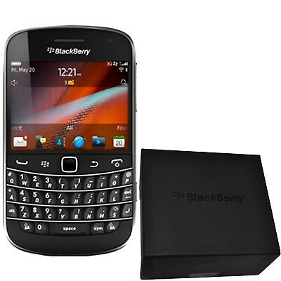 New Blackberry Bold 9900 RDV71UW Black 8GB Unlocked 3G 2G GSM Simfree