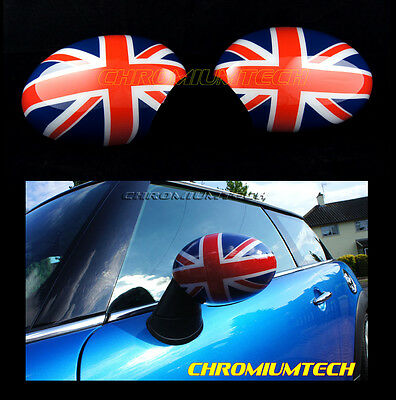 UNION JACK MIRROR Cap Covers for MK1 BMW MINI Cooper/S/ONE R50 R52 R53 LHD