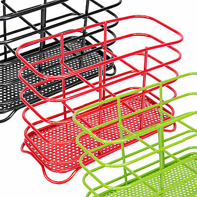 Modern 3 Compartment Metal Wire Cutlery Storage Caddy Holder Tidy Sink Drainer