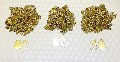 Hermle 451 Brass Grandfather Clock 3 PACK Chain & Ends NEW 241 1151 461 1161