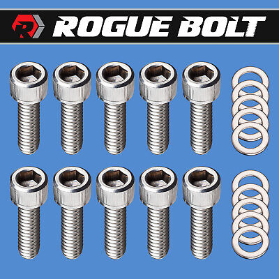 ARP 400-1501 Stainless Timing Cover Bolts Chevy SBC BBC 12-Point Chevy