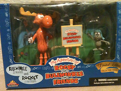 THE ADVENTURES OF ROCKY & BULLWINKLE-LIMITED EDITION COLLECTORS SERIES