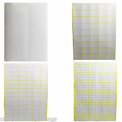 New Sticky Labels White Blank Labels Self Adhesive Address Labels Plain Stickers