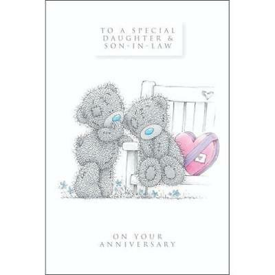 Me To You To A Special Daughter & Son-In-Law Anniversary Card Tatty Teddy Bear