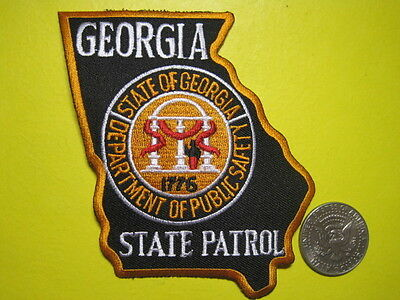 Georgia State Trooper State Police Dps Patch