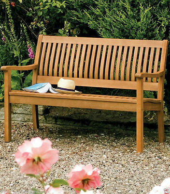 Peachy Rowlinson Hard Wood Garden Bench Two Seater Outdoor Seating Beatyapartments Chair Design Images Beatyapartmentscom