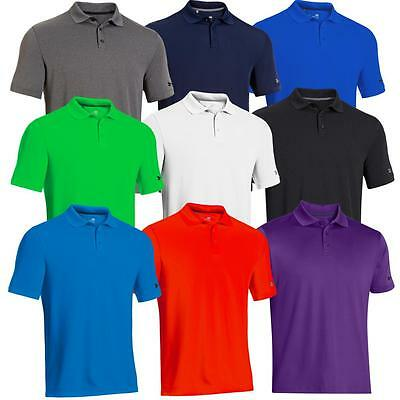 Under Armour 2018 Mens Medal Play 2.0 Performance Golf Polo Shirt