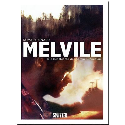 Melvile 1 Romain Renard Geschichte des Samuel Beauclair GRAPHIC NOVEL LP COMIC