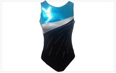 Gymnastics Leotards from Arisbeth's Collection TURQUOISE 3 COLOR