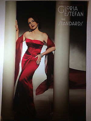 Gloria Estefan RARE The Standards Poster Promo + FREE POSTER! NEW Double-Sided