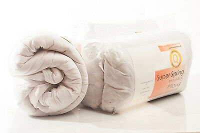 Love2Sleep Amazing Value Bundle - Polycotton Duvet And 2 Pillows – 9.0 Tog